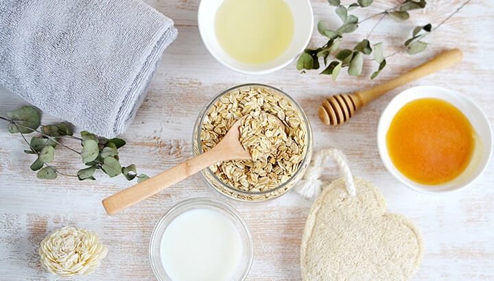 oatmeal face pack