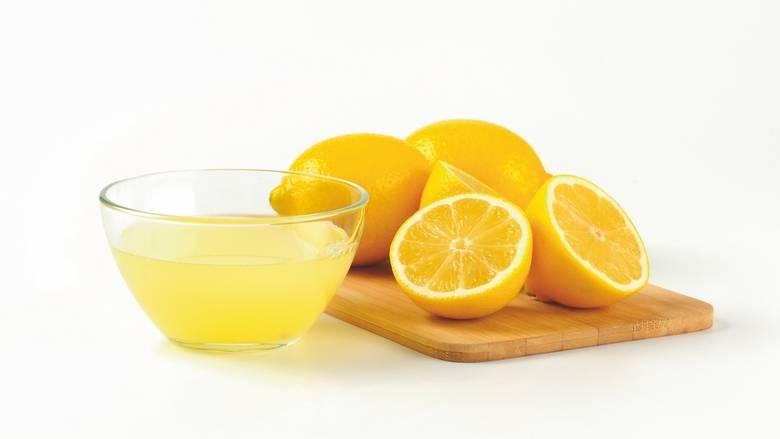 Glycerine and Lemon Juice