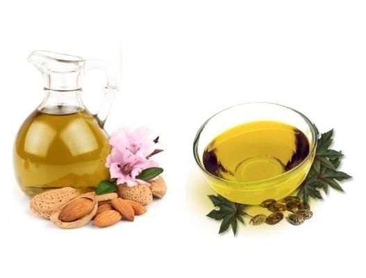Lavender Oil, Almond Oil, And Chamomile Oil