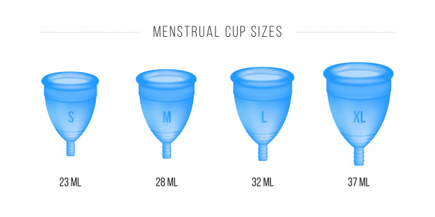 Size of Menstrual cup